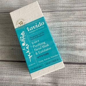 Lavido || 2-in-1 Purifying Facial Mask Exfoliator